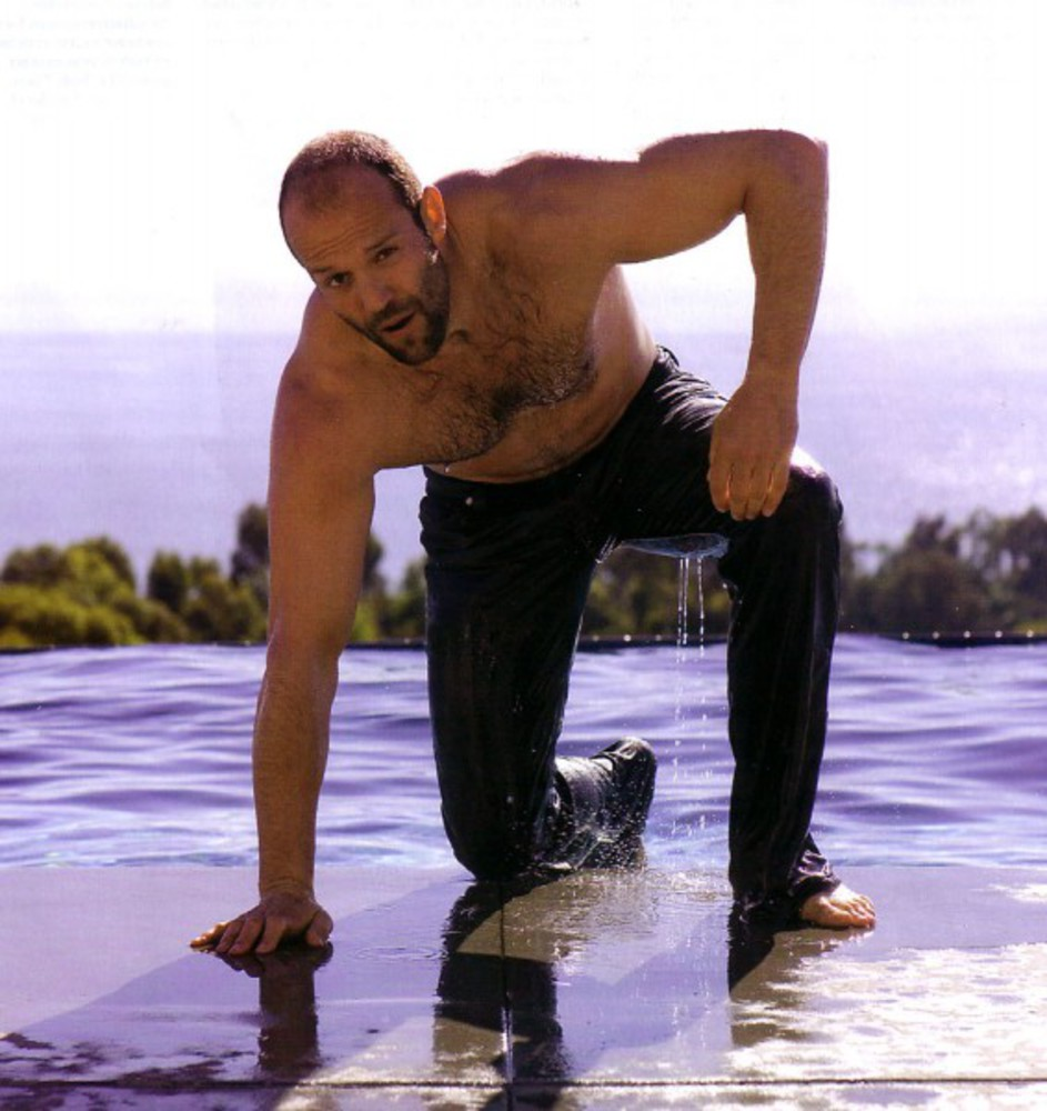 Image result for jason statham with a dog