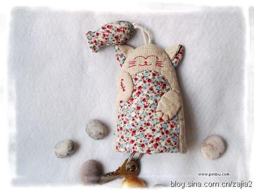 Текстильная ключница