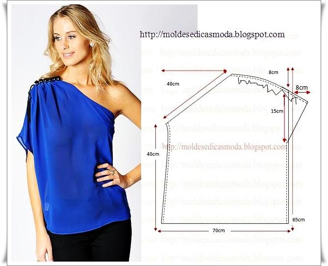 Выкройка блузки своими руками фото и выкройки