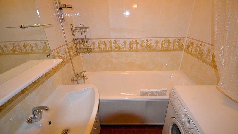 Дизайн ванны пвх панелями