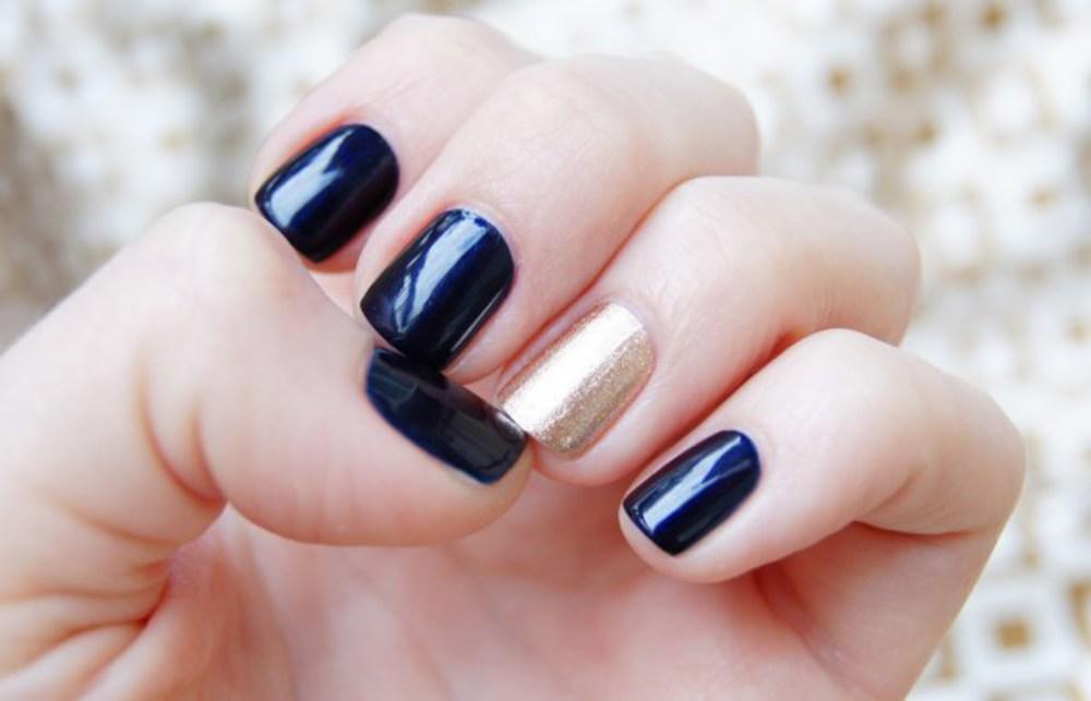 Маникюр разными лаками на разных ногтях фото