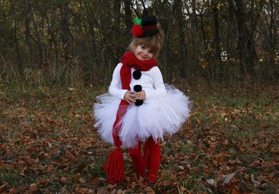 Оригинальный костюм на новый год для девочки
