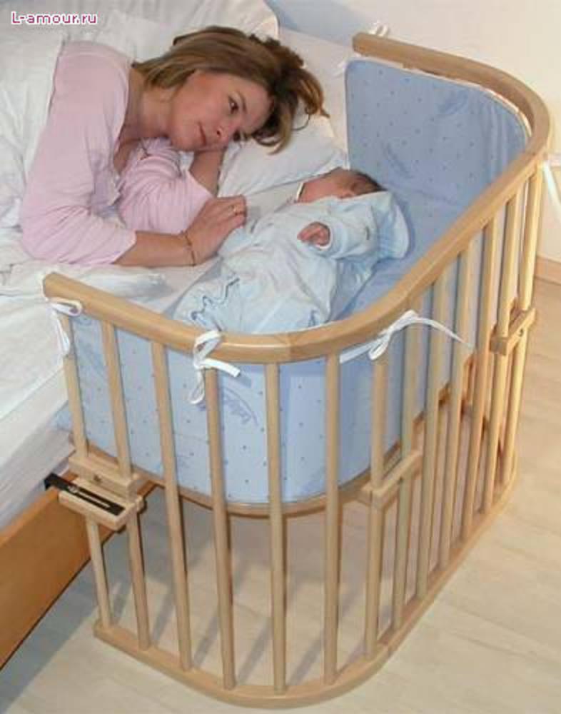 Кроватки приставные для новорожденных своими руками 82