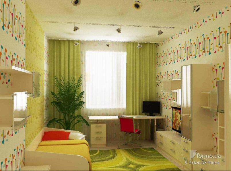 Детская комната дизайн 3 на 4 метра