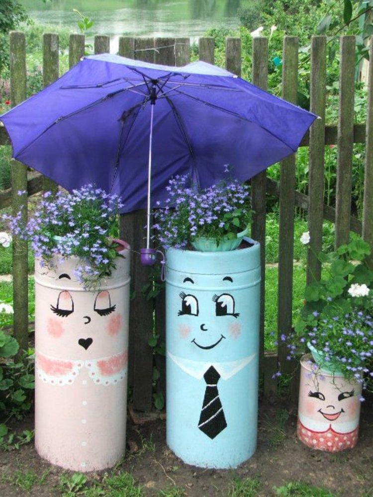 компания как разрисовать бочки в саду фото предлагает недорогую доступную