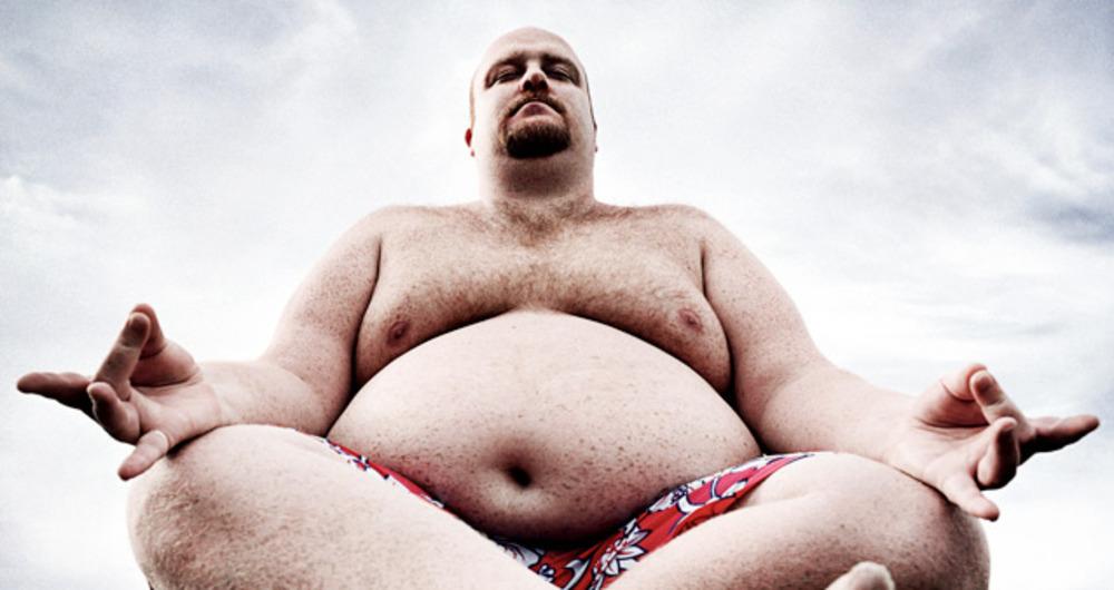 Смешная картинка толстого мужика