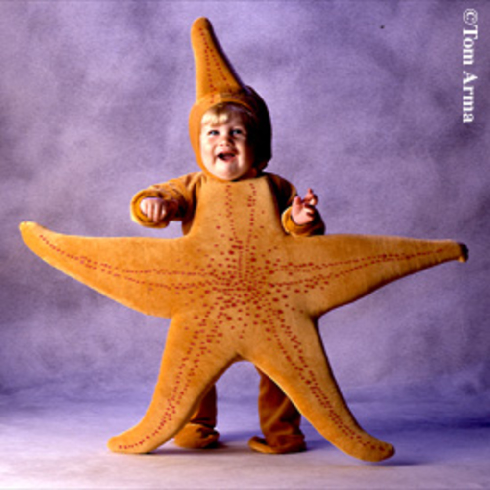 Baby starfish costume