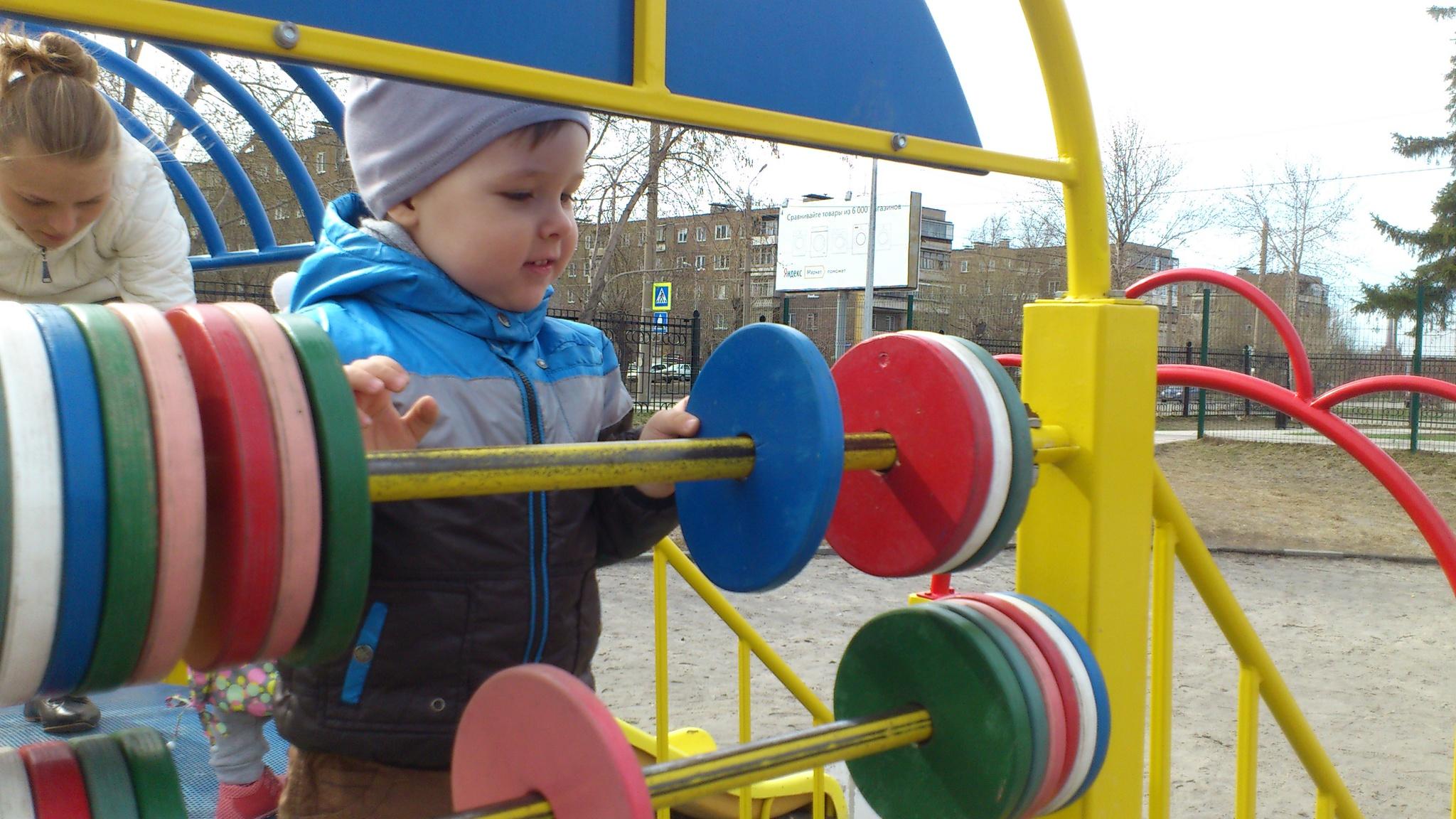 Счеты для детской площадки своими руками 15