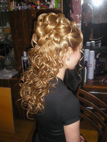Фото вечерних причёсок дома