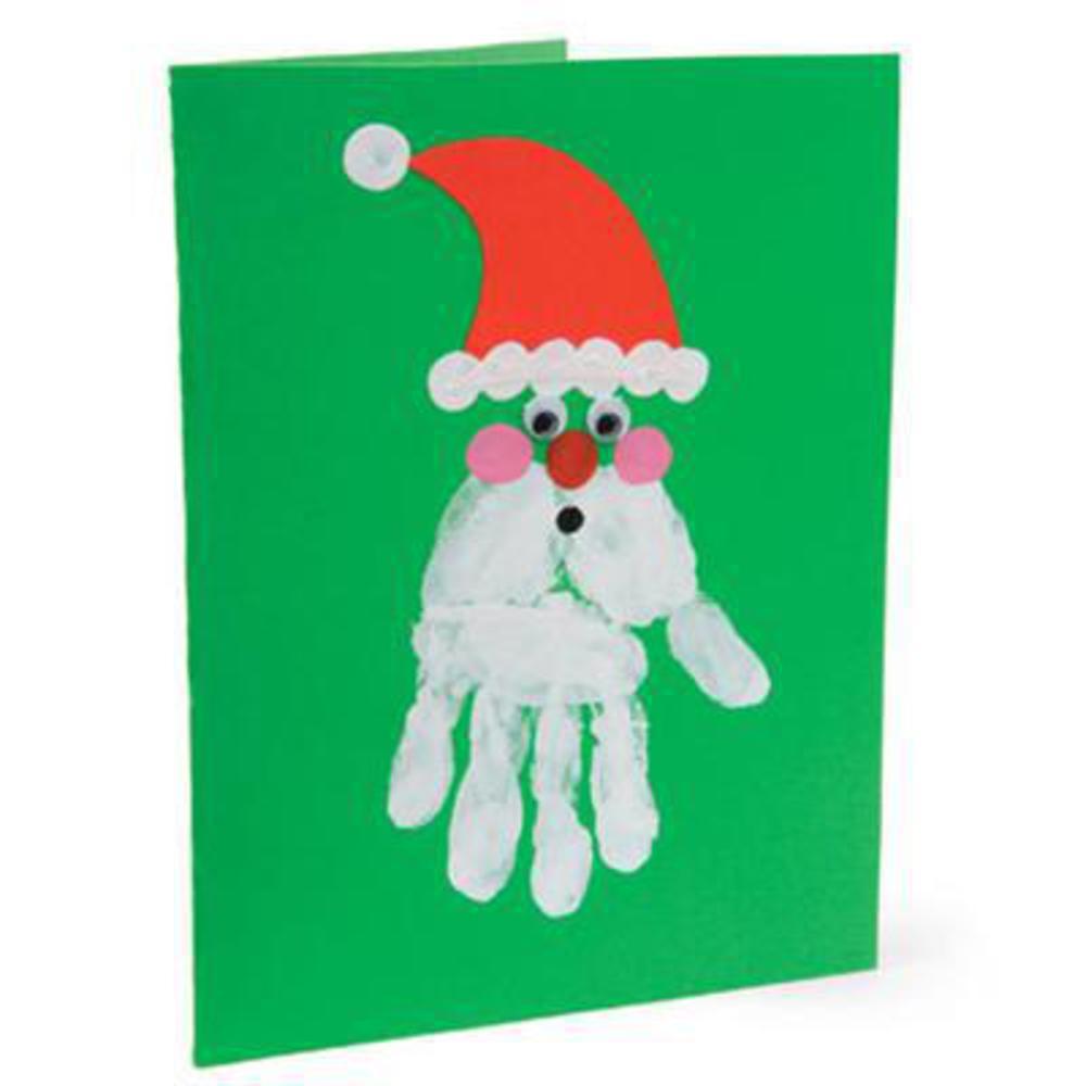 Поделки открытки к новому году