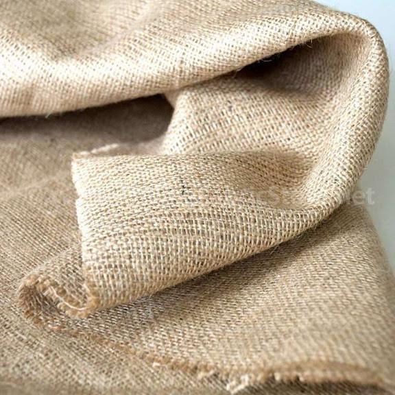 Ткань фото салатовая нить холст мешковина
