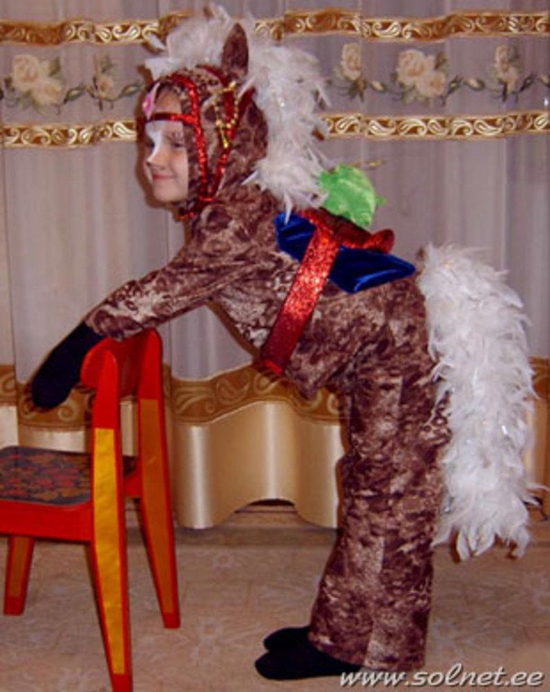 Как своими руками сделать костюм лошадки 5