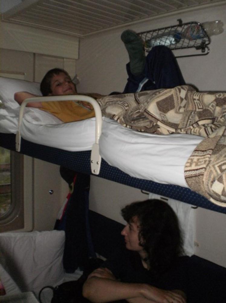 Секс в поезде лето 2010