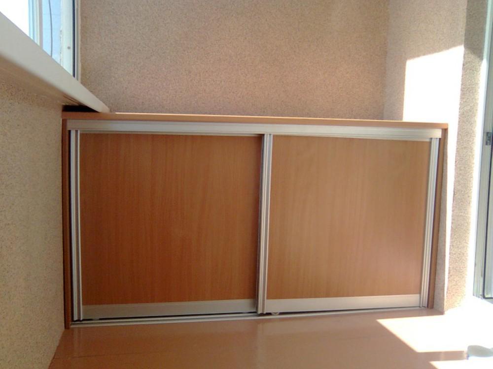 Шкафчики на балкон или лоджию в красноярске.