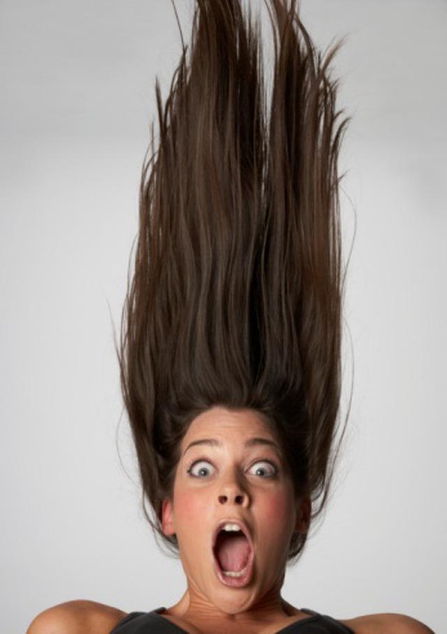 Как сделать что бы волосы стояли вверх 401
