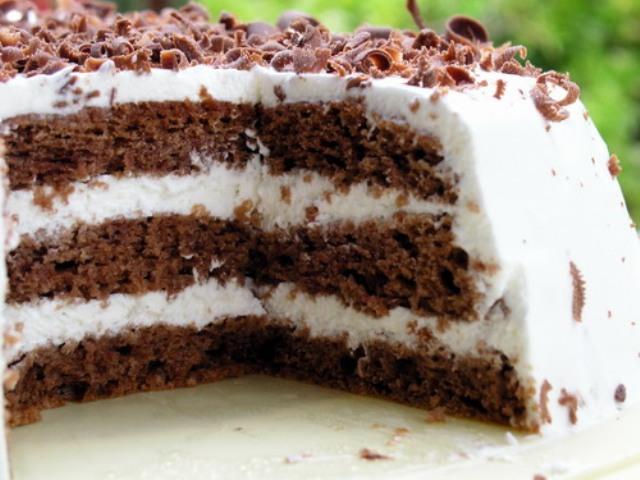 Торты шоколадные с кремом рецепты с пошагово