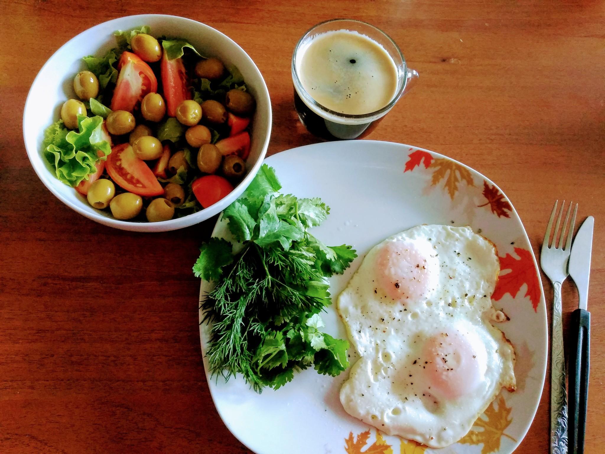Низкоуглеводная диета завтрак