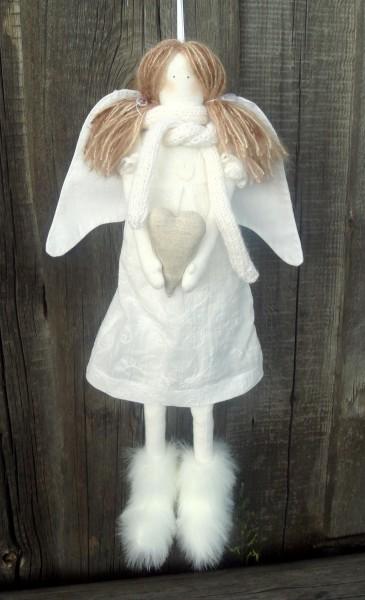 Сшить рождественского ангела своими руками