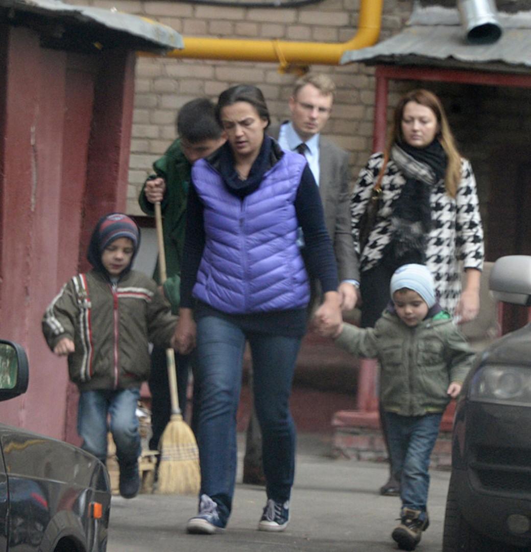 Фото детей цыганова и леоновой
