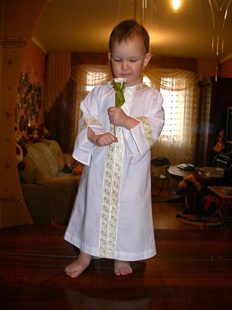 Наряд для крещения мальчика
