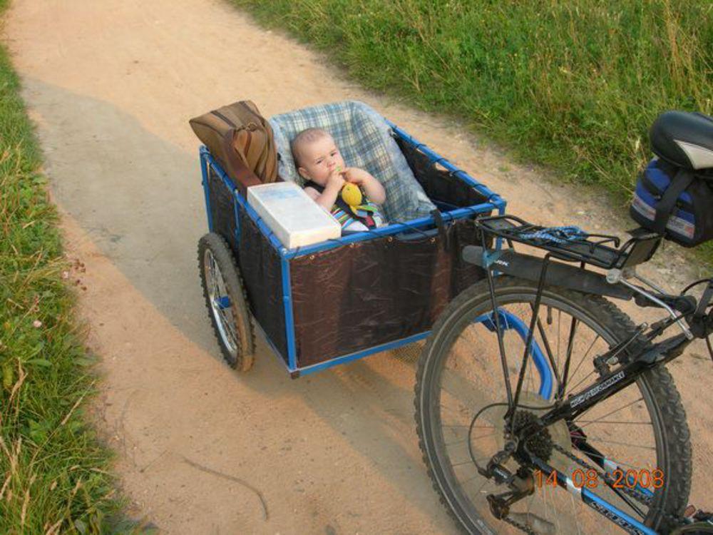 Тележки для велосипеда своими руками 73