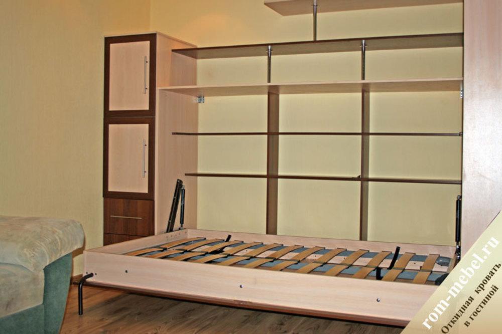 Подъемные кровати в шкаф своими руками
