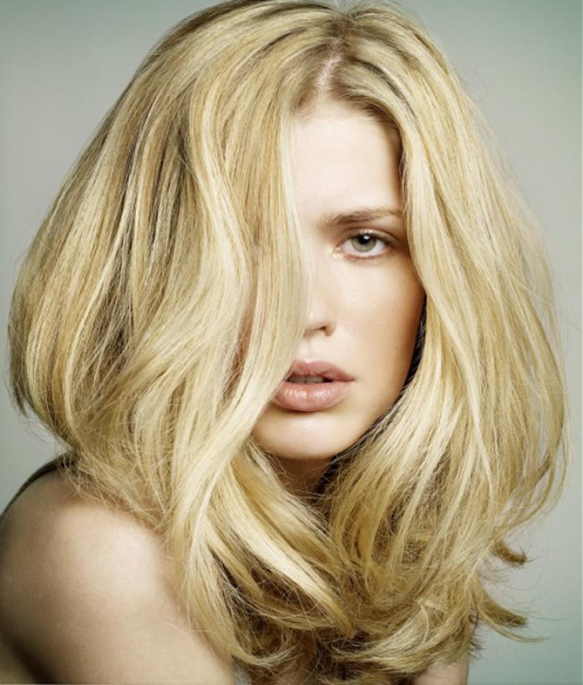 Фото цвета волос натуральный блонд