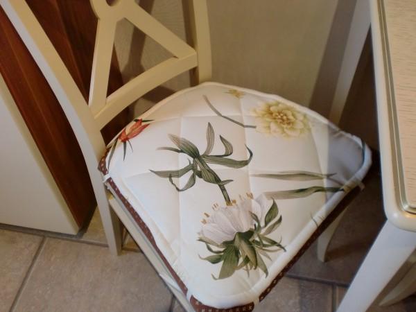 Как сшить на стулья сидушки 60