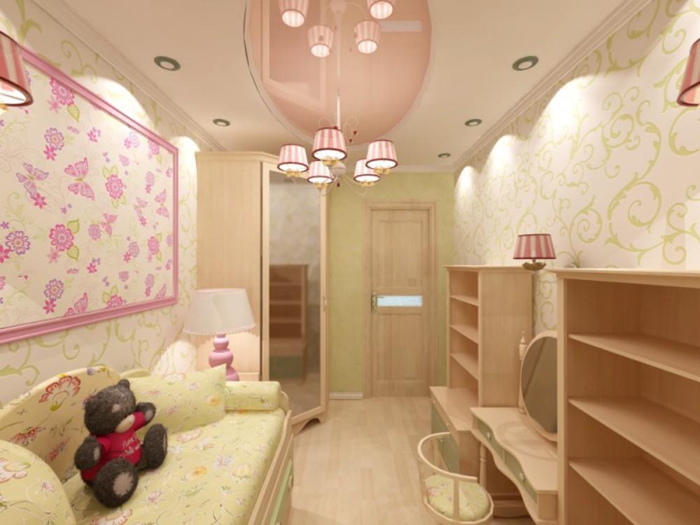Дизайн комнаты для девочек в хрущевке фото.