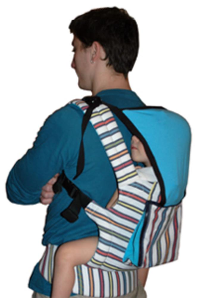 Как сшить эргономичный рюкзак переноску 57