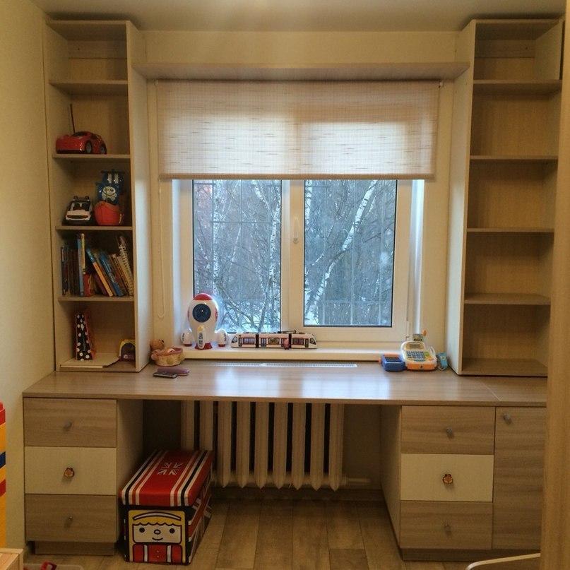 Письменный стол возле окна своими руками