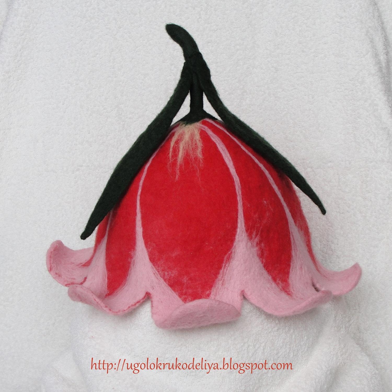 Как сделать цветок Колокольчик из фоамирана. искусственные 20