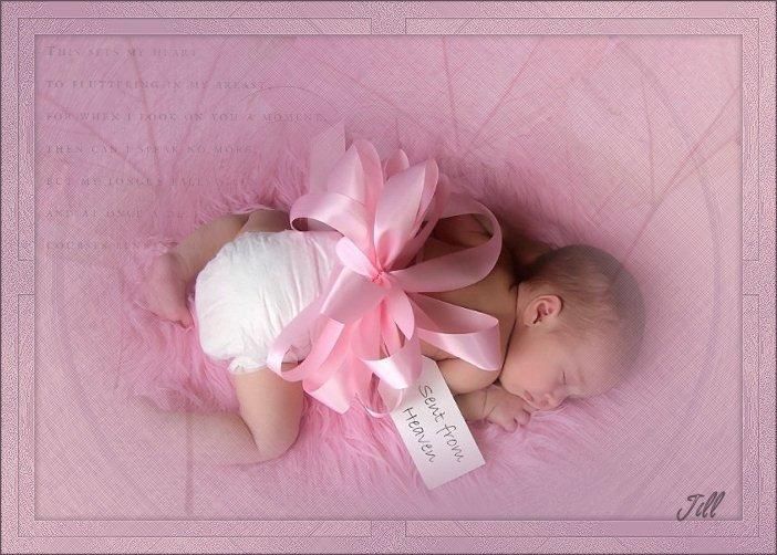 С рождением девочки открытки, поздравления на