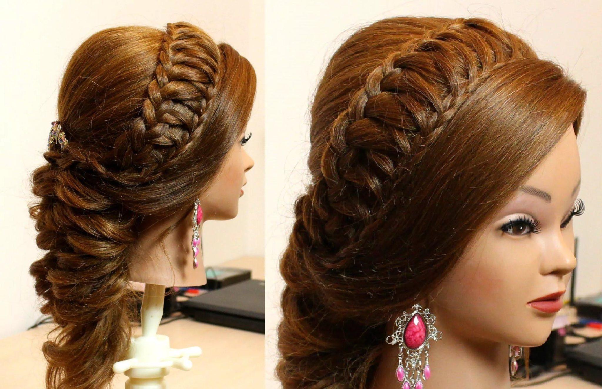 плетения для длинных волос с картинками ответить эти