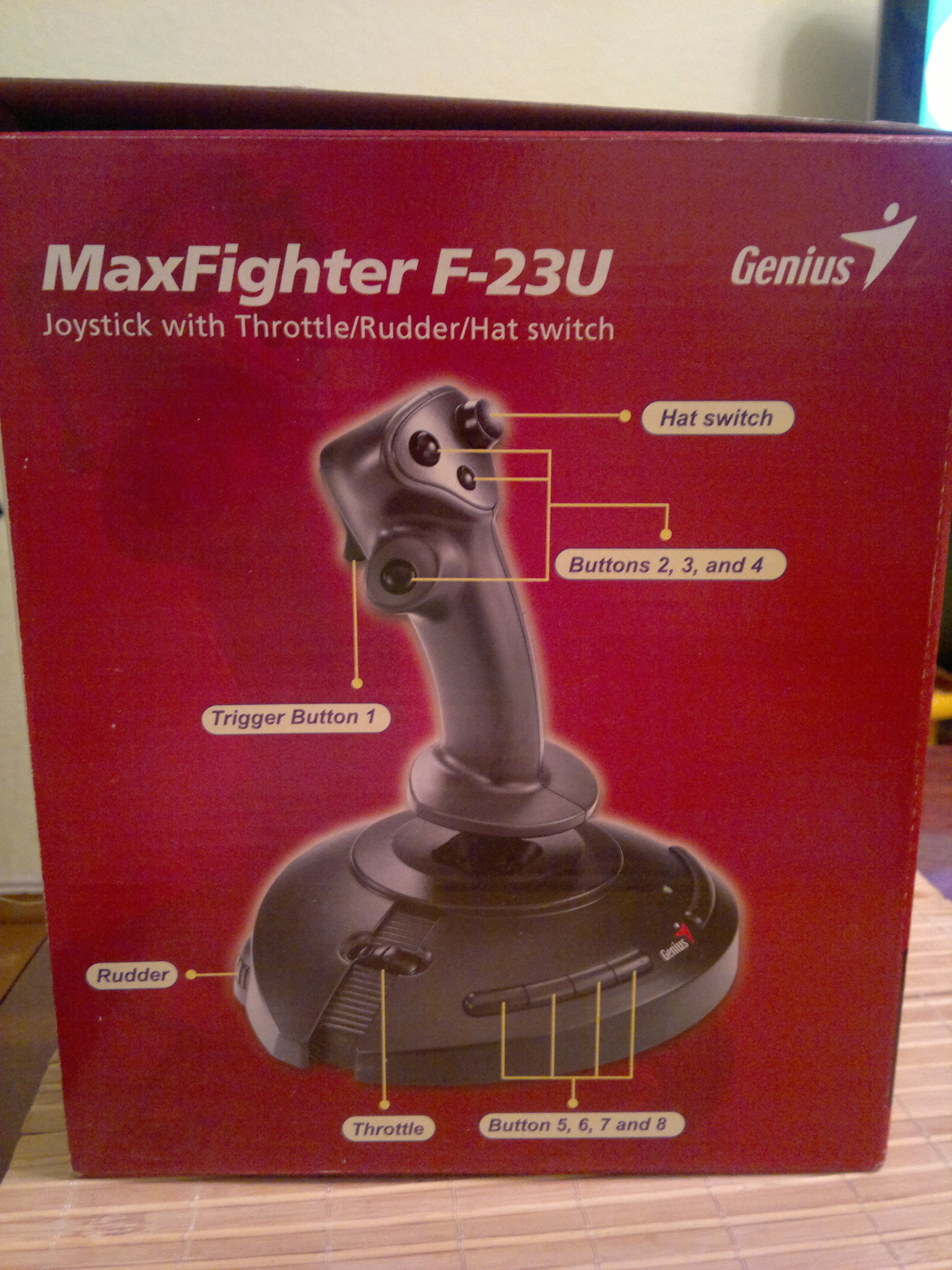 Джойстик genius maxfighter f-23u