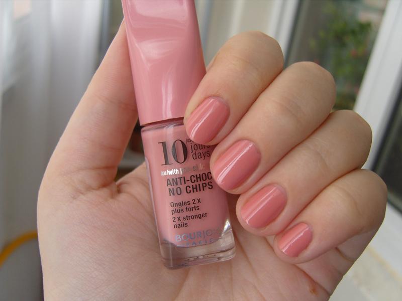 Оттенки розового лака для ногтей