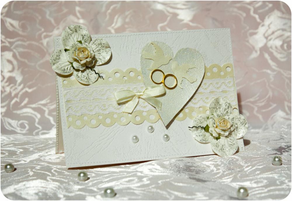 Как сделать открытку с золотой свадьбой