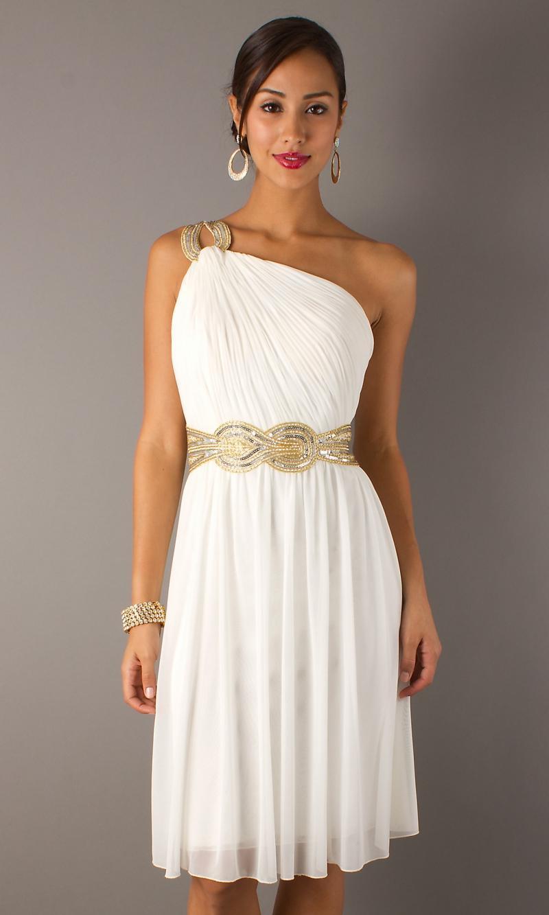 Платье в греческом стиле короткие