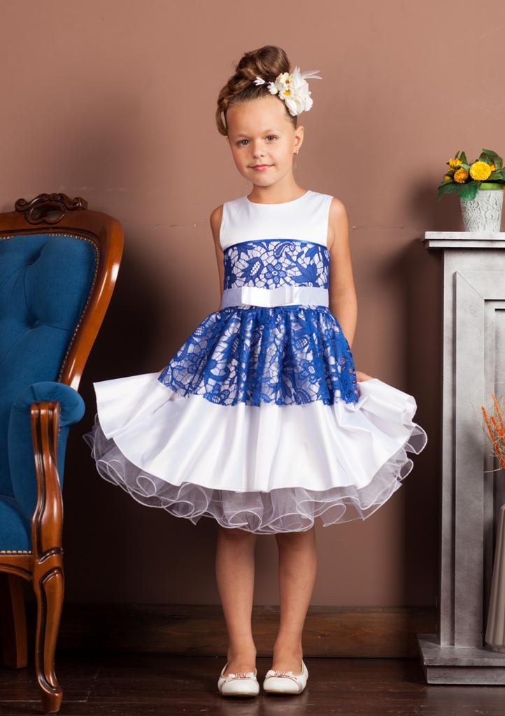 Пышное платье для девочки мастер класс