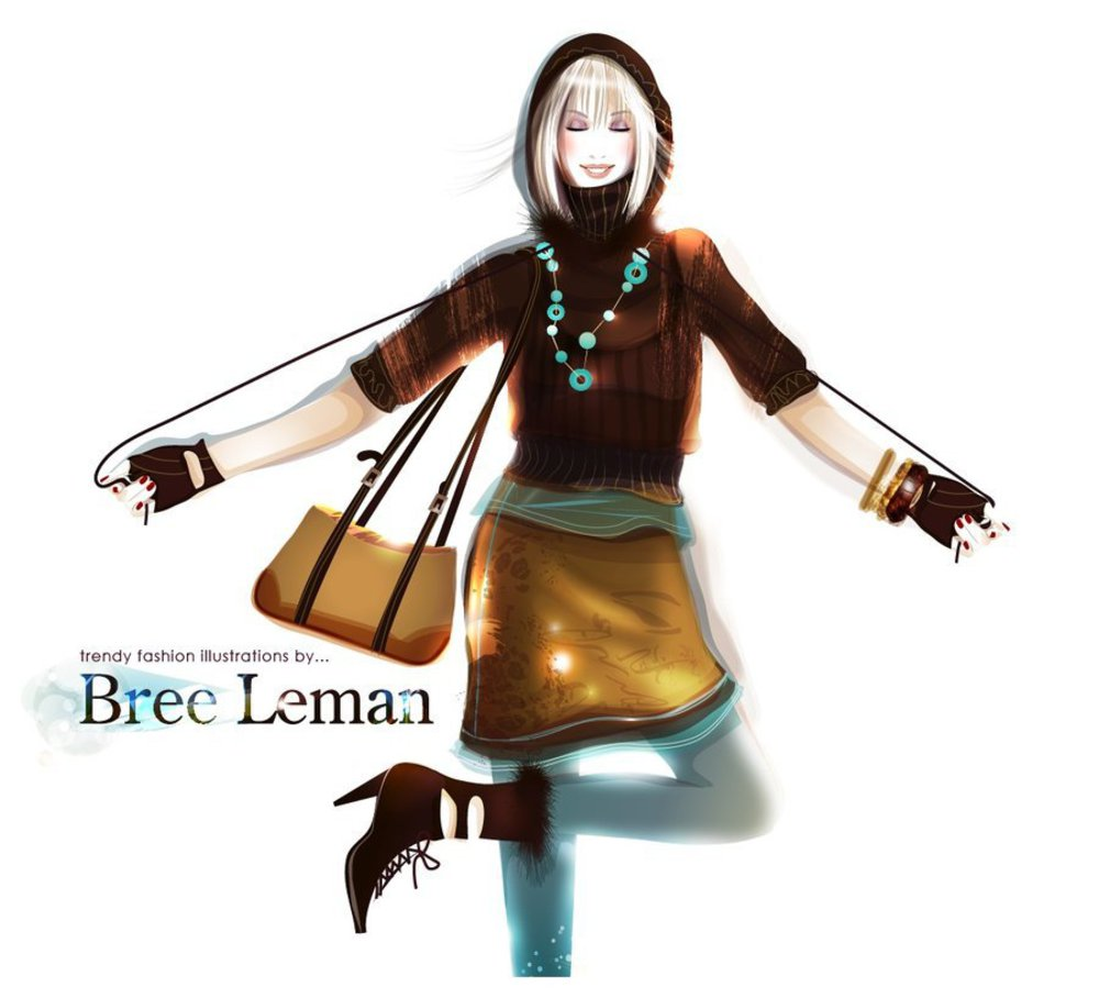 Bethan morris fashion illustrator 18