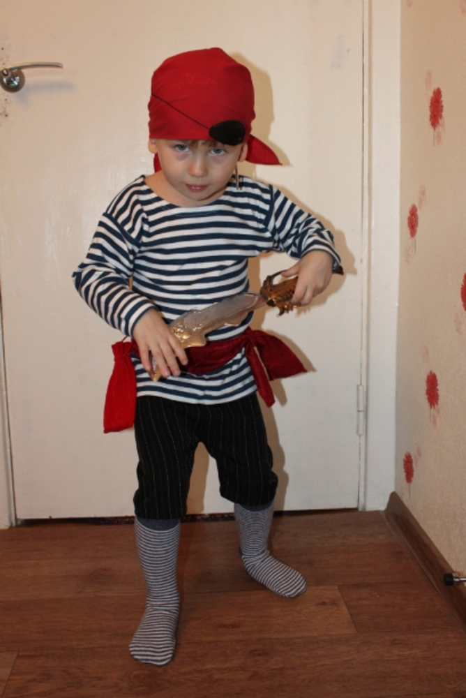 костюм соловья разбойника своими руками фото