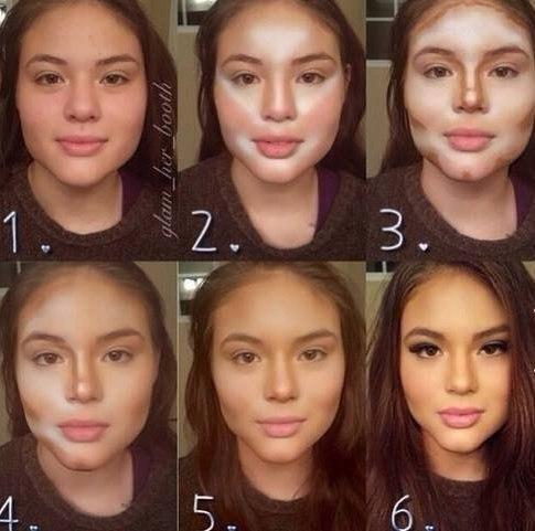 Как сделать скулы без косметики