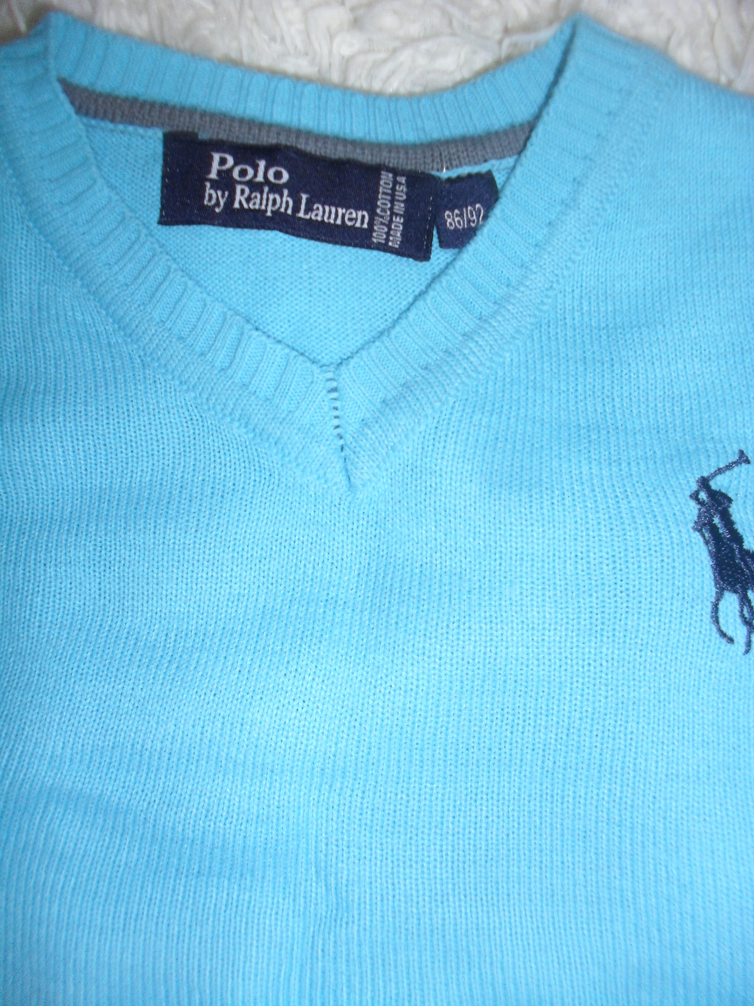Джемпер polo(made in usa)