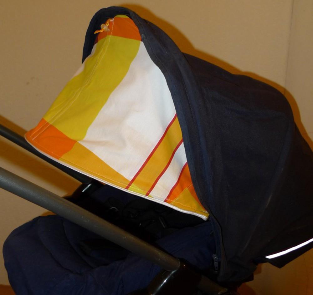 Как сшить капюшон на коляску своими руками 29