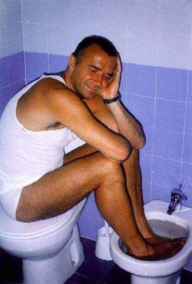 мыть ноги в унитазе оборудование для ремонта